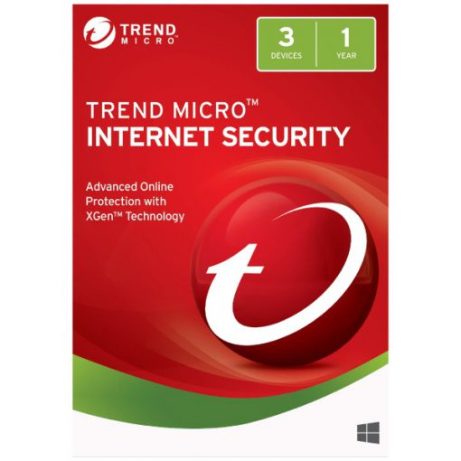 Trend Micro Internet Security 3 PCs 1 Year