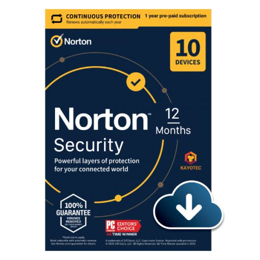 Norton Security 10 Devices 1 Year