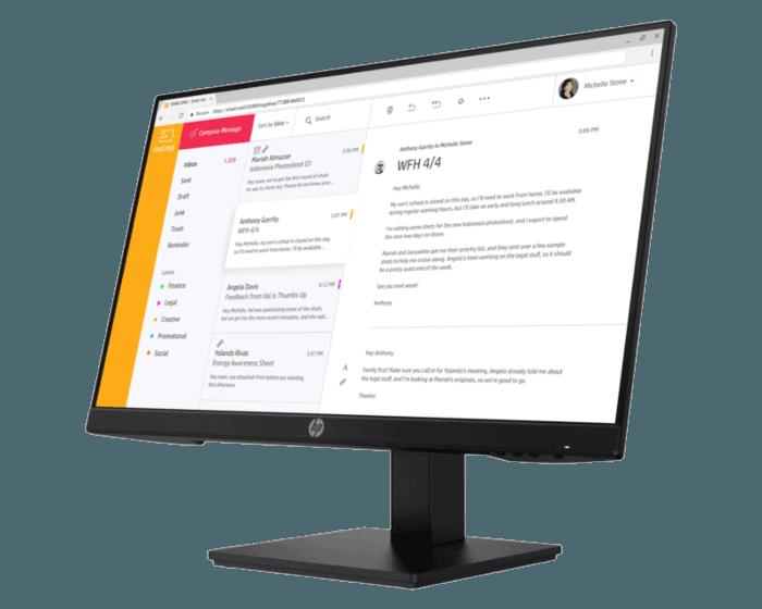 HP P24 G4 23.8-Inch Monitor