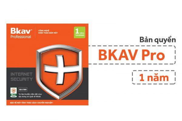 Tư vấn mua phần mềm diệt virus bản quyền BKAV ProTư vấn mua phần mềm diệt virus bản quyền BKAV Pro